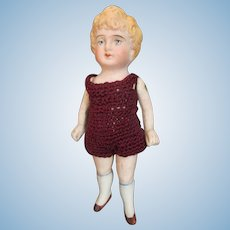 """Adorable 5"""" All Bisque Doll"""