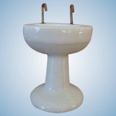 Vintage Porcelain Doll House Sink