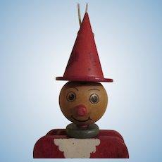 Vintage Wooden Strung Doll
