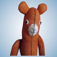 Handmade Vintage Bear for Your Doll