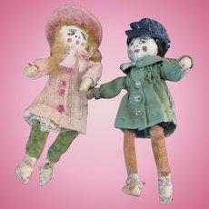 Sweet Miniature Artist Dolls
