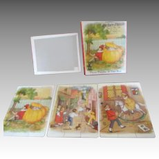 3 Vintage Child's Puzzles in OB