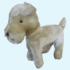 Adorable Mohair Dog For Your Doll
