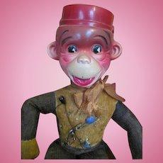 Celluloid Faced Monkey Pin Cushion