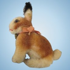 Sweet Steiff Bunny for Your Doll's Companion