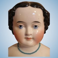 Very Large Early China Doll Head