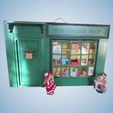 The Corner Shop - Miniature Doll House Store