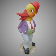 Vintage Composition Duck Doll