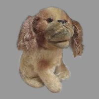 Vintage Steiff Mohair Dog for your Antique Doll