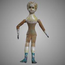 Antique Mason & Taylor Wooden Doll