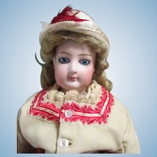Stunning Antique French Fashion Doll
