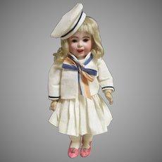 "Adorable 10.5"" SFBJ French Doll"
