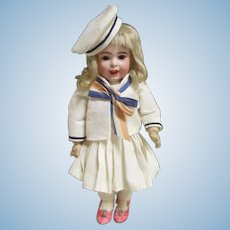 "Adorable 10.5"" SFBJ French Doll"