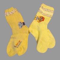 Vintage Doll Socks - Never Used