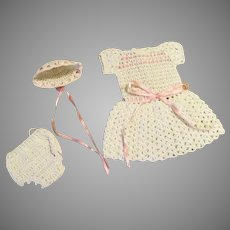 Crocheted Outfit for Your All Bisque Doll