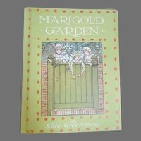 Kate Greenaway Marigold Garden Book - First Edition