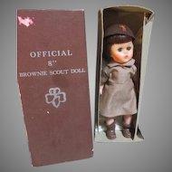 Vintage Official Brownie Doll in Original Box