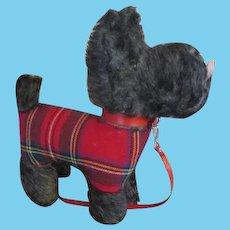 Black Mohair Scottie Terrier for Your Antique Doll