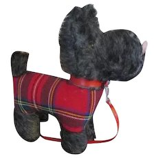 Black Mohair Scottie Terrier for Your Antique Doll