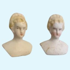 Antique Miniature Bisque Head Dolls
