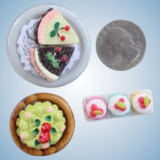 Miniature Doll House Pastries