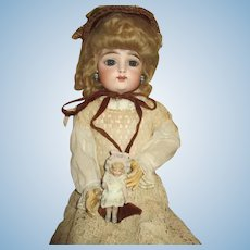 Stunning French FG Scroll Antique Doll