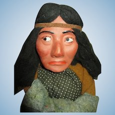 Cigar Store Display Indian Doll