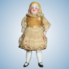 "Adorable 3.5"" Doll House Child Doll"