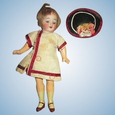 Darling Antique Flapper Doll in Original Outfit