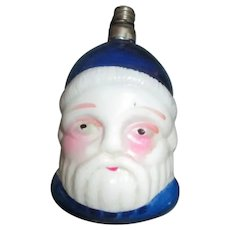 Vintage Milk Glass Santa Christmas Light Bulb