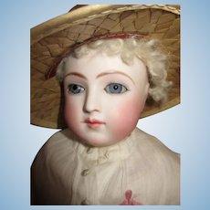 Breathtaking Antique French Fashion Doll