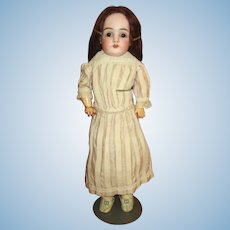 Delightful Kestner 154 DEP Bisque Head Doll