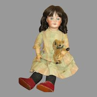 "Sweet 22"" French SFBJ 301 Antique Doll"