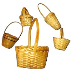 Assorted Doll Baskets