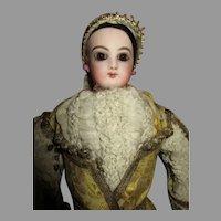 Antique French Fashion w/Jumeau Stamped Body