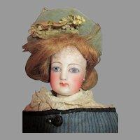 Beautiful FG French Fashion Bisque Head Doll