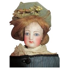 Beautiful FG French Fashion Bisque Head Doll