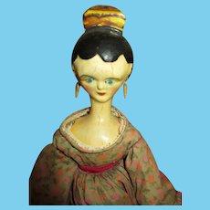 Amazing Artist Wooden Doll