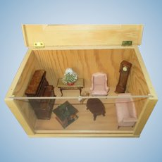 Miniature Room Box for Your Doll