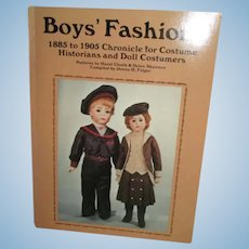 Boys' fashions, 1885 to 1905: Chronicle for costume historians and doll costumers