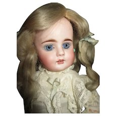 Antique Bisque Head Doll for French Market