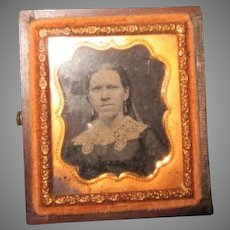 Tin Type Photo for your Doll House