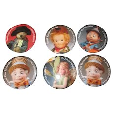 R. John Wright Doll Collector Pins