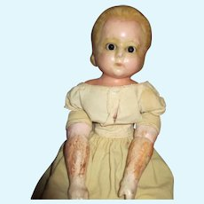 Antique Wax Over Alice Doll