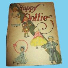 1914 Happy Dollies Book