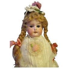 Sweet Bisque Shoulder Head Doll