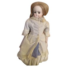 Solid Dome ABG Bisque Head Doll