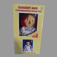 Raggedy Ann commemorative Stamp Doll