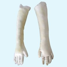 Replacement Leather Doll Arms