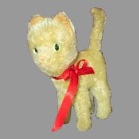 Vintage Mohair Kitten for Your Doll's Companion